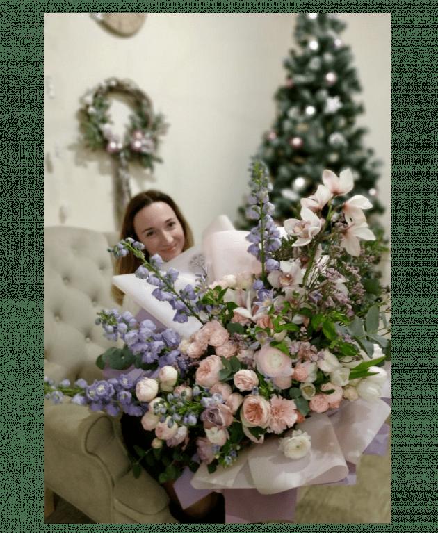 """Букет """"Щастя"""" – Інтернет-магазин квітів STUDIO Flores"""