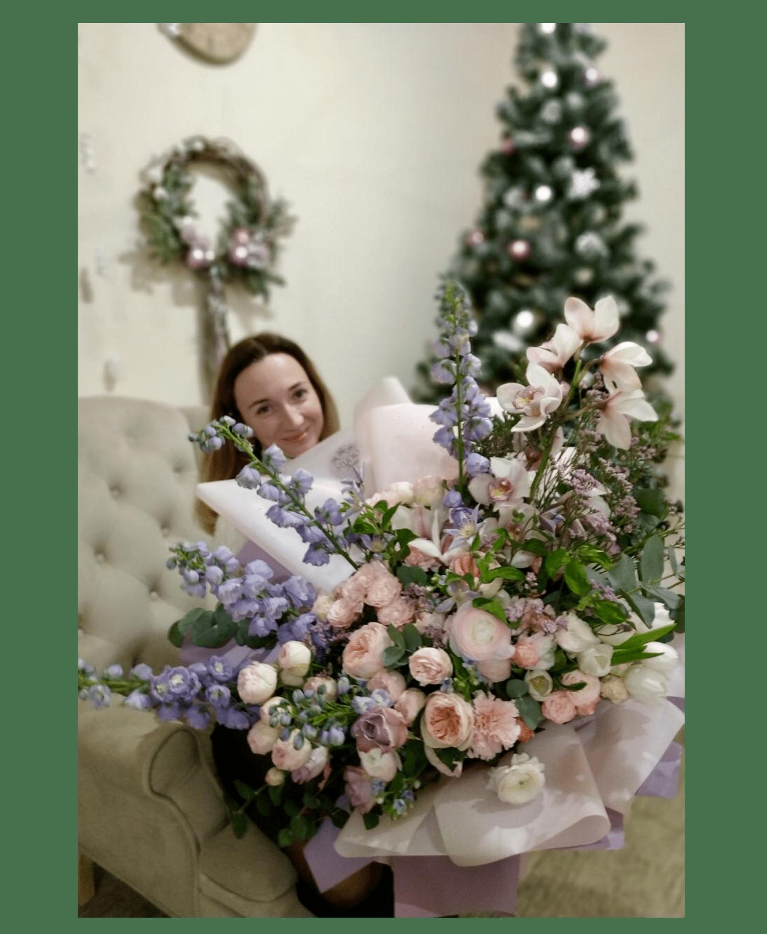 """Букет """"Счастье"""" – Интернет-магазин цветов STUDIO Flores"""