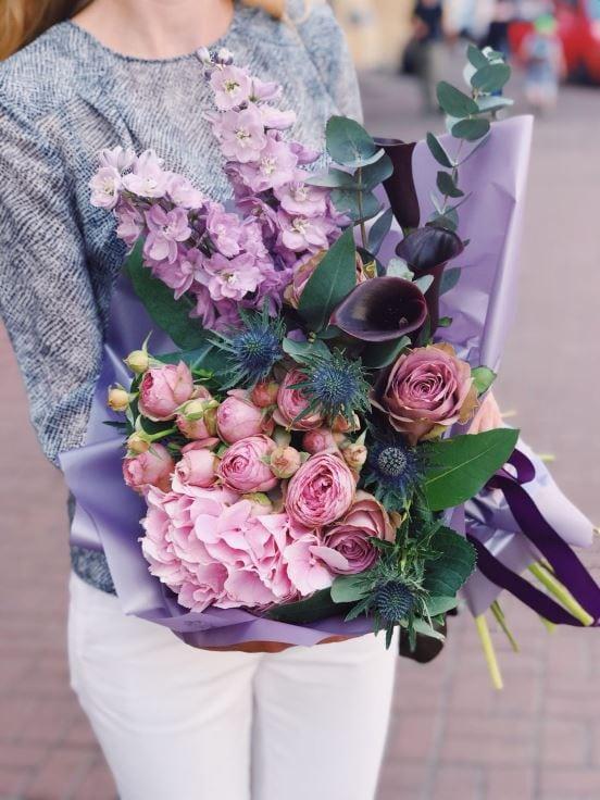 Купить заказ цветов в магазине #2