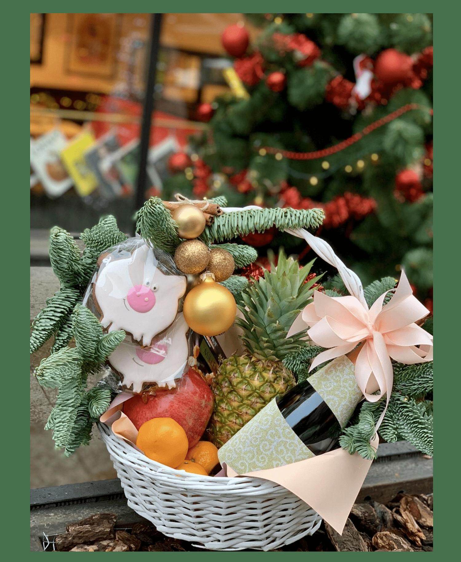 Новогодний подарок 1 – Интернет-магазин цветов STUDIO Flores