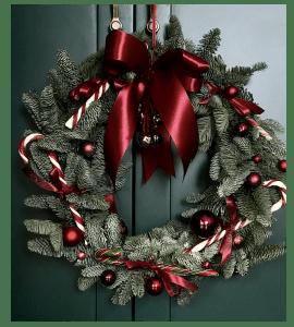 Венок Сладкое Рождество – Інтернет-магазин квітів STUDIO Flores