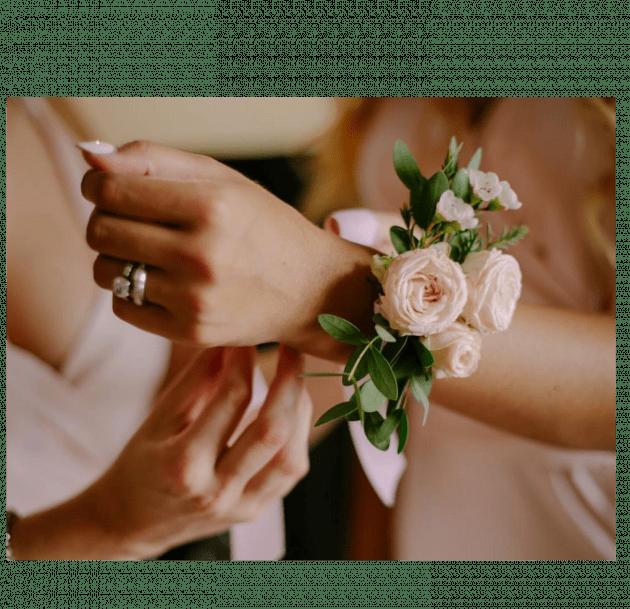 Браслет подружки невесты – Интернет-магазин цветов STUDIO Flores