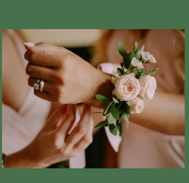 Браслет подружки невесты – Інтернет-магазин квітів STUDIO Flores