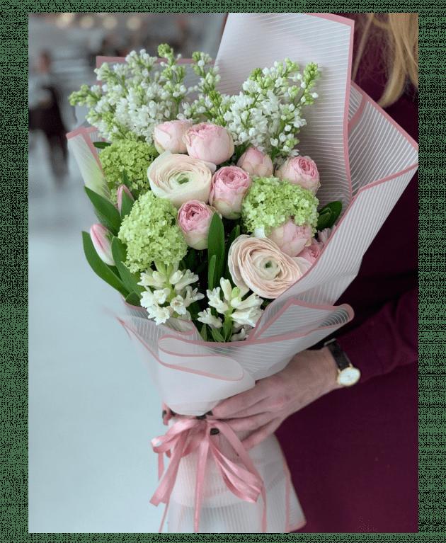 Букет 'Бузковий аромат' – Інтернет-магазин квітів STUDIO Flores