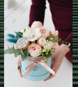 Bouquet 'Flower cake' – Flower shop STUDIO Flores