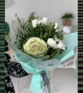 """Букет """"Гринери"""" – Интернет-магазин цветов STUDIO Flores"""