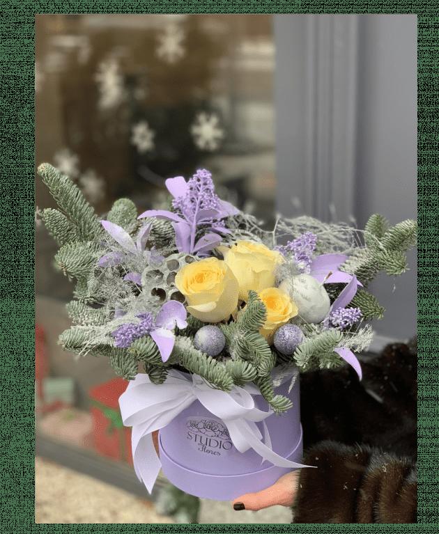 """Букет """"Водохресні морози"""" – Інтернет-магазин квітів STUDIO Flores"""