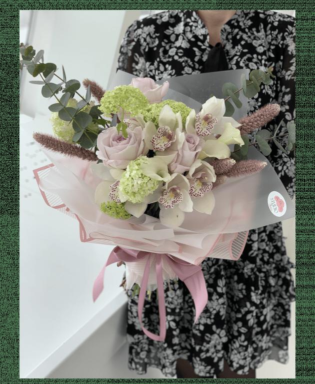 Букет 'Мерси' – Интернет-магазин цветов STUDIO Flores
