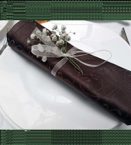 Бутоньерки на салфетки – Интернет-магазин цветов STUDIO Flores
