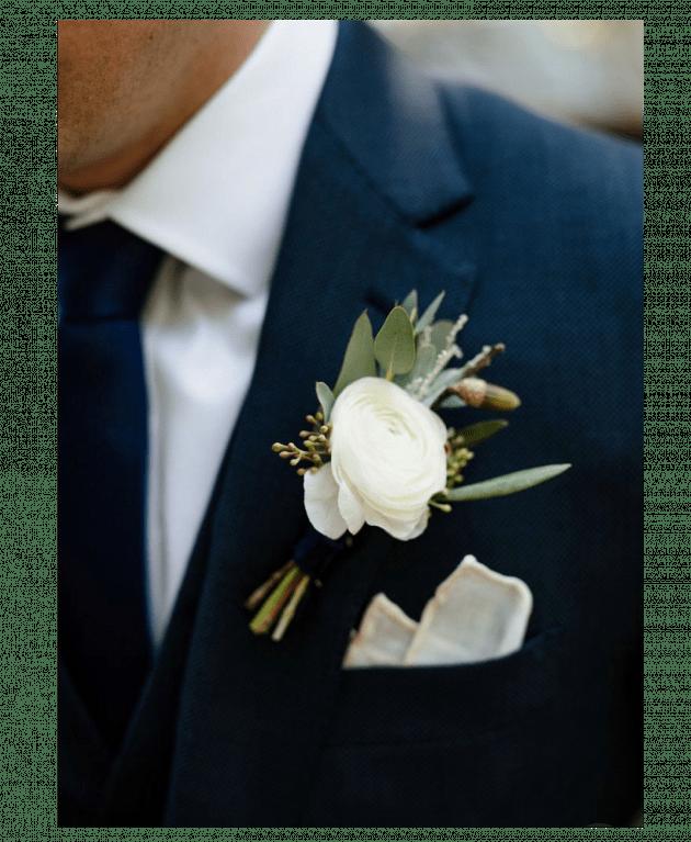 Бутоньерка жениха – Интернет-магазин цветов STUDIO Flores