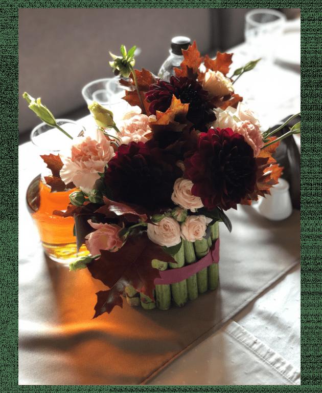 """Композиция """"Оттенки осени"""" – Интернет-магазин цветов STUDIO Flores"""