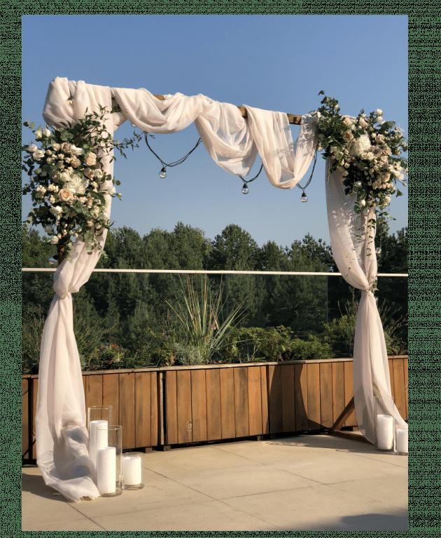 Оригинальные свадебные арки - Flores-shop.com.ua