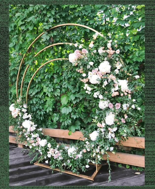Свадебная арка 'Круглая' – Интернет-магазин цветов STUDIO Flores