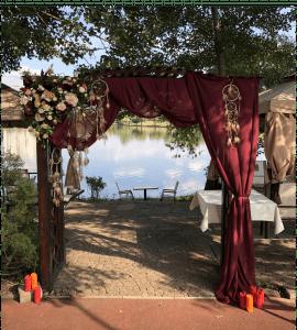 "Свадебная арка ""Марсала"" – Інтернет-магазин квітів STUDIO Flores"