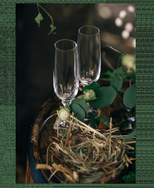 Свадебные бокалы – Интернет-магазин цветов STUDIO Flores