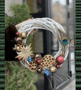 Венок Перо Жар птицы – Інтернет-магазин квітів STUDIO Flores