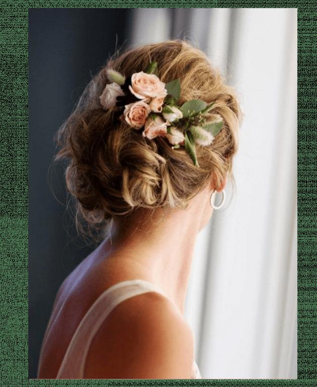 Заколка из цветов – Интернет-магазин цветов STUDIO Flores