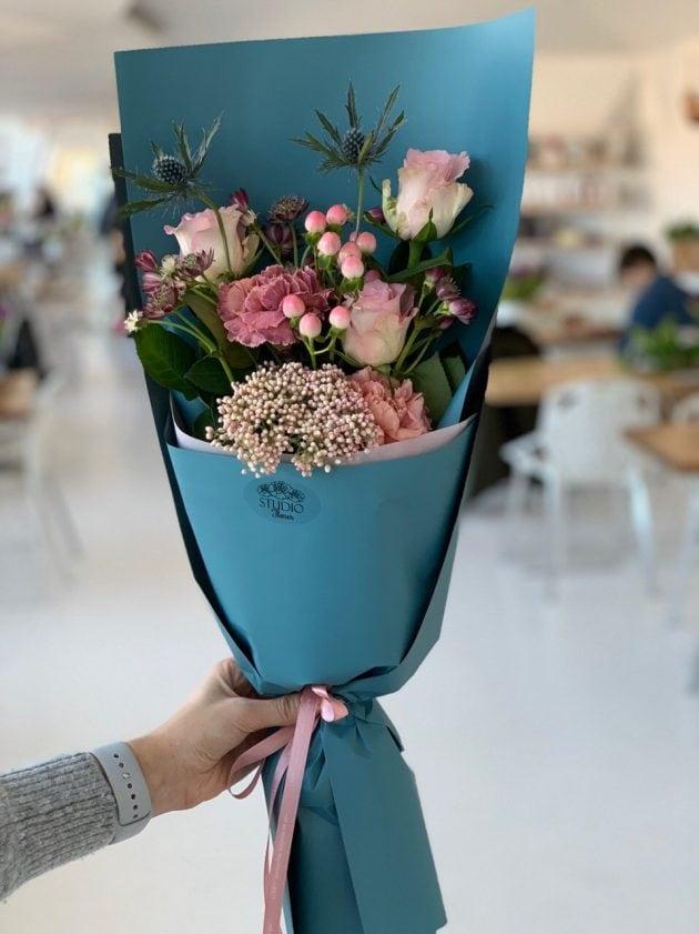 """Букет """"Комплимент"""" – Интернет-магазин цветов STUDIO Flores"""