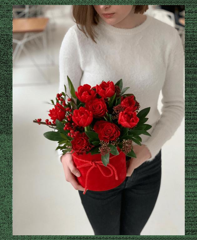 """Букет """"Ее любовь"""" – Интернет-магазин цветов STUDIO Flores"""