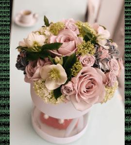 """Букет """"Клубничный мусс"""" – Интернет-магазин цветов STUDIO Flores"""