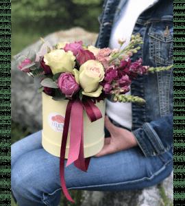 """Букет """"Мисс Флора"""" – Интернет-магазин цветов STUDIO Flores"""