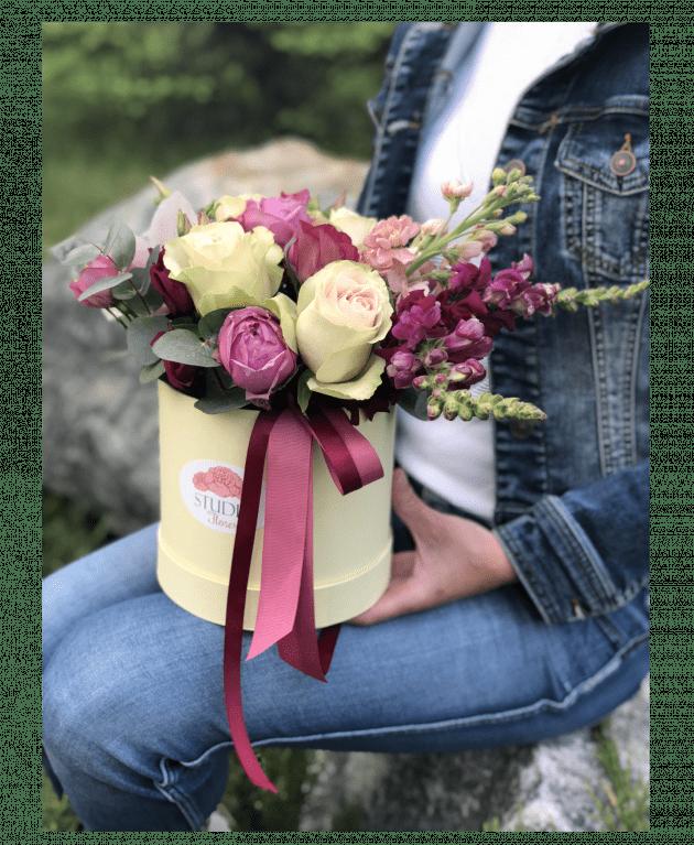 Букет 'Мисс Флора' – Интернет-магазин цветов STUDIO Flores
