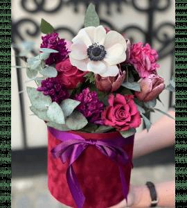 """Букет """"Відтінки бузкового"""" – Интернет-магазин цветов STUDIO Flores"""