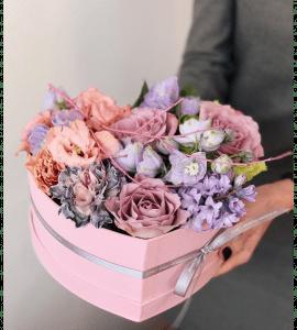 Букет с гвоздиками - flores-shop.com.ua