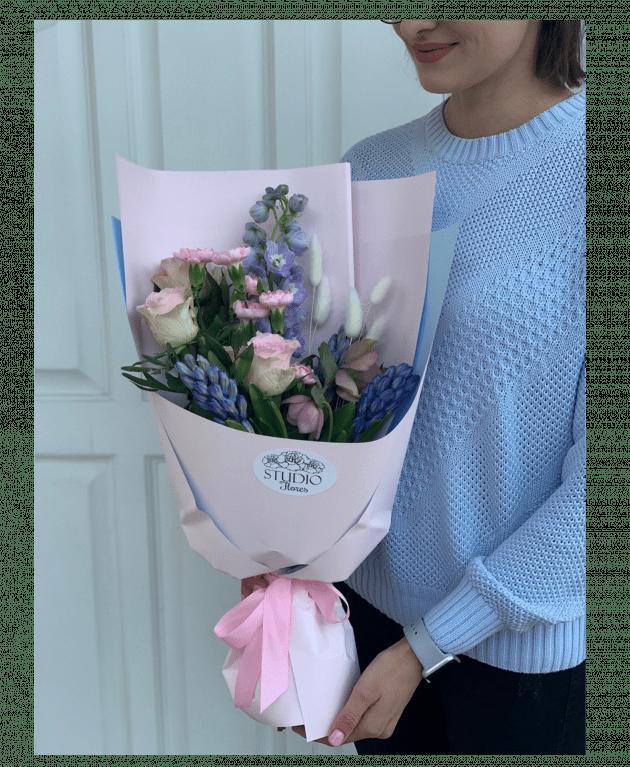 """Букет """"Ванильные облака"""" – Интернет-магазин цветов STUDIO Flores"""