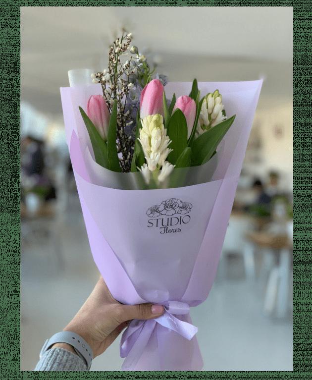"""Букет """"Весенний аромат"""" – Интернет-магазин цветов STUDIO Flores"""