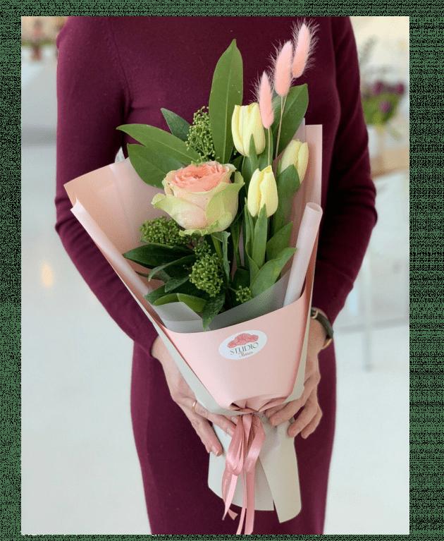"""Букет """"Женственность"""" – Интернет-магазин цветов STUDIO Flores"""