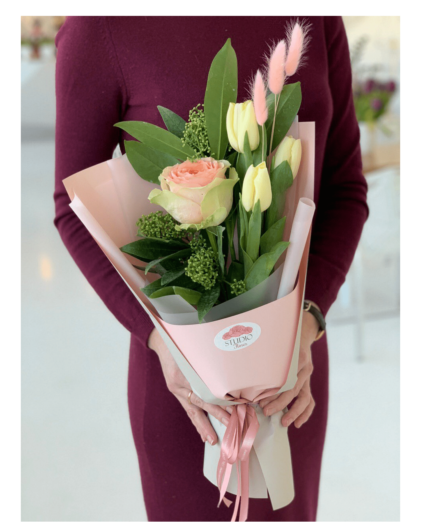 """Букет """"Женственность"""" – Flower shop STUDIO Flores"""