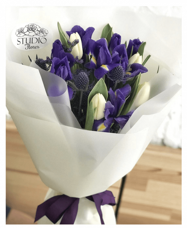 Букет 'Дыхание весны' – Интернет-магазин цветов STUDIO Flores