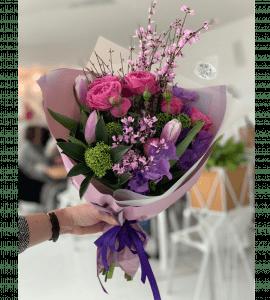 "Букет ""Розовый агат"" – Інтернет-магазин квітів STUDIO Flores"