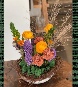 """Букет """"Домашний очаг"""" – Интернет-магазин цветов STUDIO Flores"""