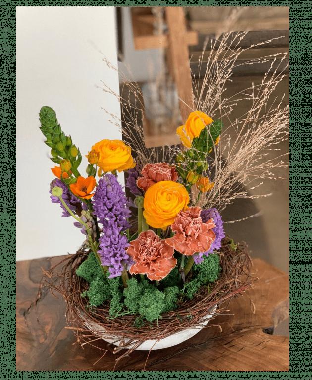 """Букет """"Домашний очаг"""" – Інтернет-магазин квітів STUDIO Flores"""