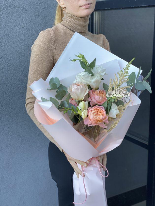 Букет 'Флирт' – Интернет-магазин цветов STUDIO Flores