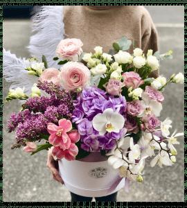 Букет 'Французская весна' – Интернет-магазин цветов STUDIO Flores