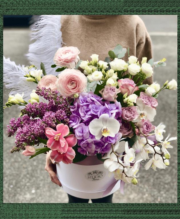 """Букет """"Французская весна"""" – Интернет-магазин цветов STUDIO Flores"""