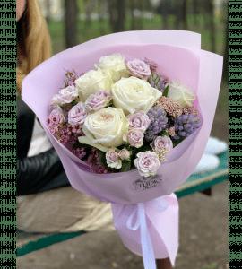 Букет Мороженое – Интернет-магазин цветов STUDIO Flores
