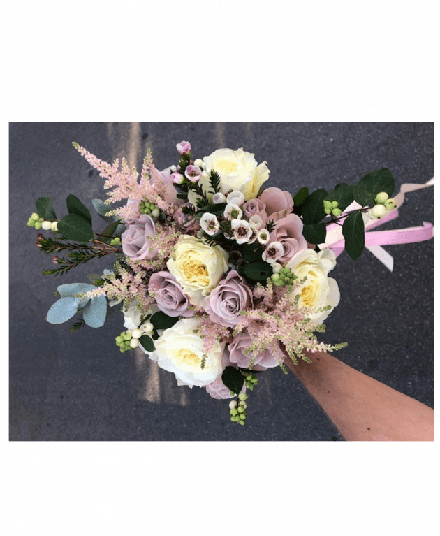 Букет невесты 22 – Интернет-магазин цветов STUDIO Flores