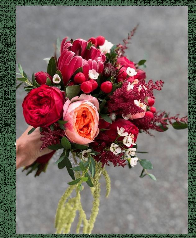 Букет невесты 24 – Интернет-магазин цветов STUDIO Flores
