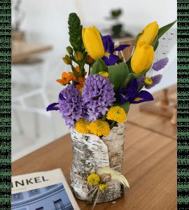 """Букет """"Пасхальная поляна"""" – Интернет-магазин цветов STUDIO Flores"""