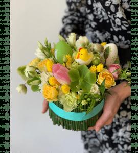 """Букет """"Пасхальный снопик"""" – Интернет-магазин цветов STUDIO Flores"""