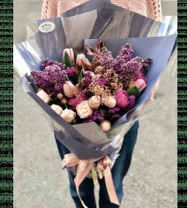 """Букет """"Магия сирени"""" – Интернет-магазин цветов STUDIO Flores"""