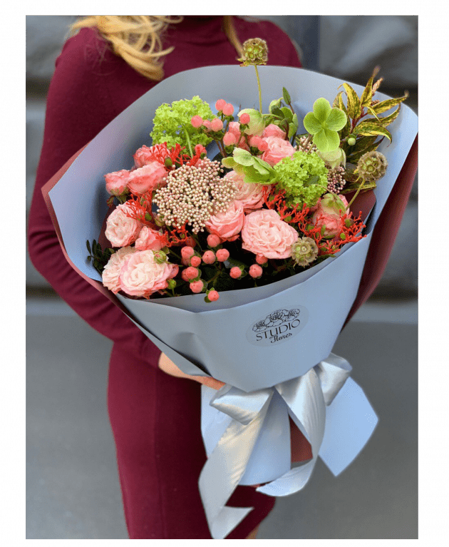Букет 'Венеция' – Интернет-магазин цветов STUDIO Flores