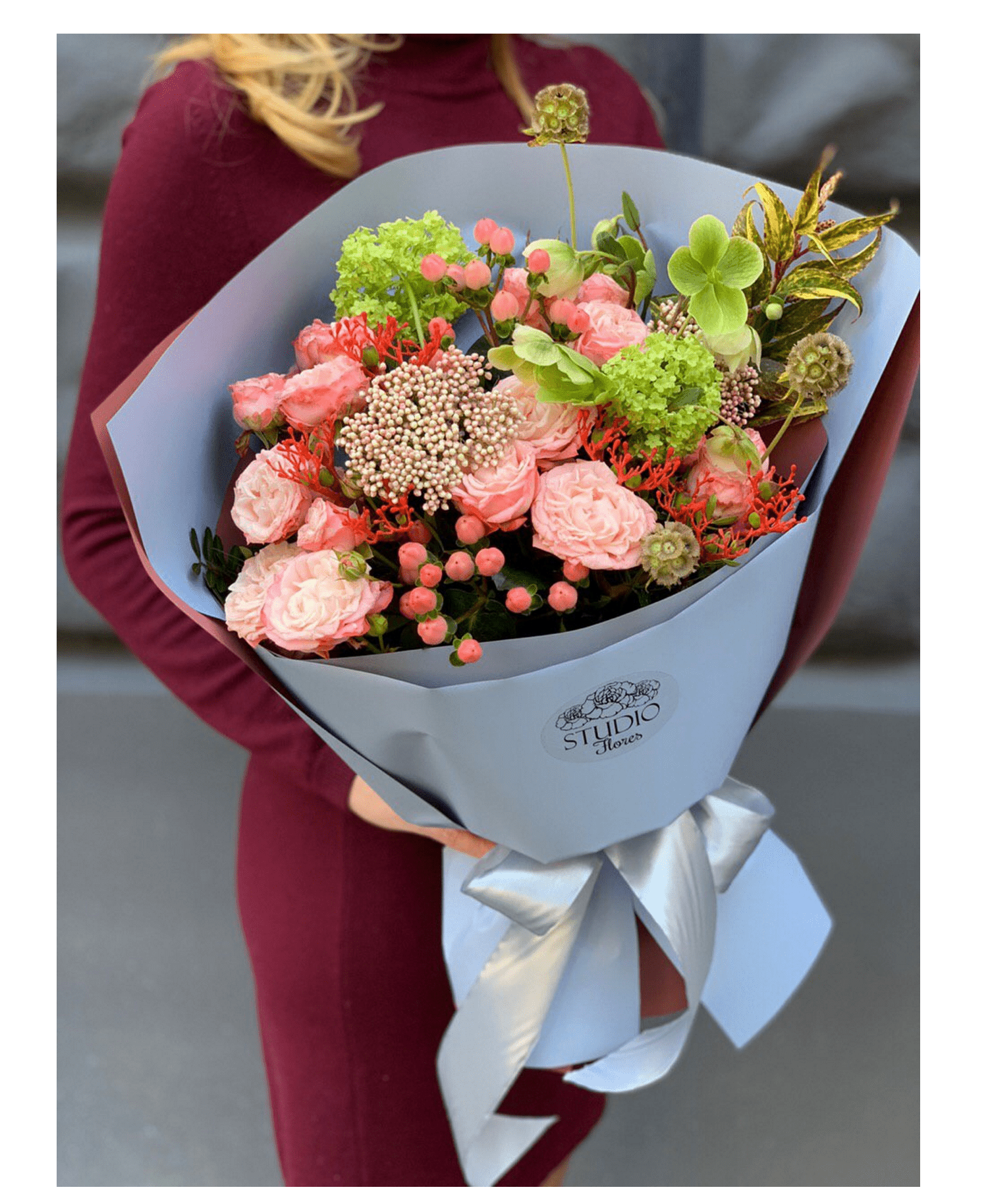 """Букет """"Венеция"""" – Flower shop STUDIO Flores"""
