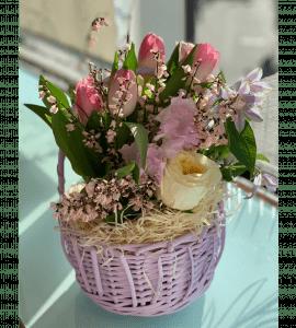 """Корзина цветов """"Для дочки"""" – Інтернет-магазин квітів STUDIO Flores"""