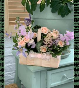 """Корзина цветов """"Для Мамы"""" – Интернет-магазин цветов STUDIO Flores"""