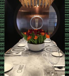 Оформлення квітами ресторану – Интернет-магазин цветов STUDIO Flores